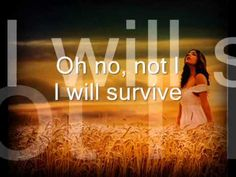 I Will Survive. Gloria Gaynor - YouTube