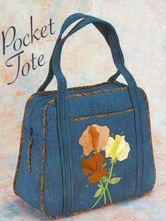 Pocket Tote Bag Pattern