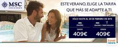 #MSC #Cruceros #Promoción #TodoIncluido Reserva en www.ofertravel.es