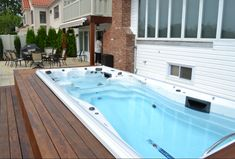 swim spa deck.. like that its low.. would like it in the floor though