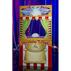Fortune Teller Photo Stand In, Fortune Teller Booth