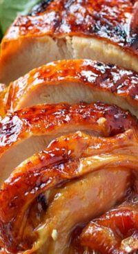 Easy Maple-Glazed Roasted Turkey Breast