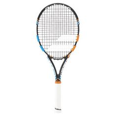 The all-new 2015 Babolat Pure Drive 2 Play is an updated version. If you enjoyed the previous model, you'll love the 2015 Babolat Pure Drive 2 Play. Connectivity: The racquet syncs wirelessly to your smart phone or tablet (iOS or Android) via integrated Bluetooth. You pair it to your device like any Bluetooth head set and then open the app to sync your data. Use your PC or Mac (required) to upload the data via a mini USB found in the frame of the racquet.