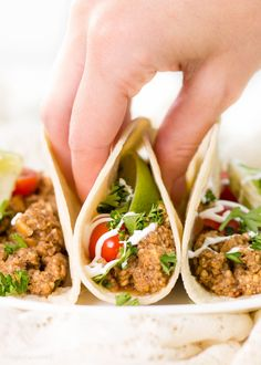 Vegetarian Taco Meat recipe imitates the food we love without the meat or the higher price tag. A win win for taco lovers!