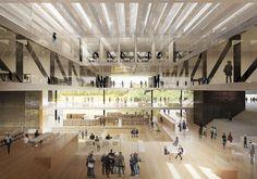 Gallery of Knowledge and Cultural Square Winning Proposal / Mecanoo Architecten + Code Arkitektur + Buro Happold - 4