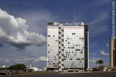 Prédio do Banco Regional de Brasília (BRB) no Setor Bancário Sul
