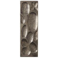 Raindrop Silver Large Rectangle Panel - Arteriors