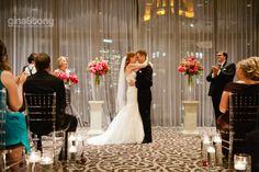 chicago wedding photographers, hotel 71 wedding photos, wyndham grand chicago riverfront wedding, chicago wedding at night