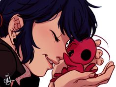 (Miraculous: Tales of Ladybug and Cat Noir) Marinette and Tikki