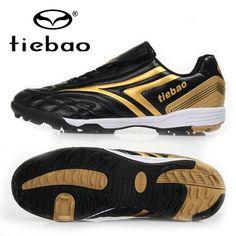 Aliexpress.com: Comprar Profesionales TIEBAO zapatos de fútbol al aire hombres mujeres botas de fútbol TF Turf de goma suela Ttaining chuteira futebol de calzado botas de carnaval fiable proveedores en JACKY PENG's store