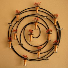 reuse of a candle holder