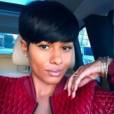 STYLIST FEATURE| Love this #bowlcut wig styled by #baltimorestylist @baltimoresbaddeststylist on @night_in_gail❤️ Perfect option for trying a short hairstyle✂️ Looks so natural #voiceofhair ✂️========================== Go to VoiceOfHair.com ========================= Find hairstyles and hair tips! =========================