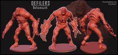 Behemoth! 3D print miniature