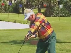 Moe Norman shows his Master Move, Vertical Drop, Coin Drill. Golf swing ...