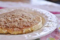 Cinnamon Streusel Pancakes  @yourhomebasedmom.com  #pancakes,#breakfast,#recipes
