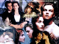 Rose and Jack in Titanic