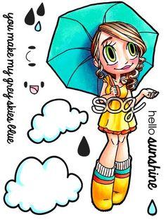 Some Odd Girl: Gwen : Umbrella Gwen