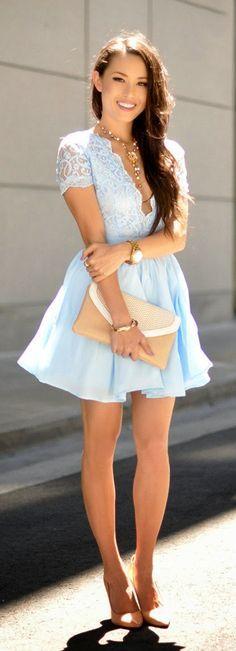 2017 Spring and Summer Dress Trends Lookbook 14
