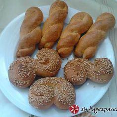 Σμυρνέικα κουλουράκια Sausage, French Toast, Bread, Cookies, Breakfast, Desserts, Food, Crack Crackers, Morning Coffee