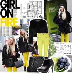 """""""NYC Girl!"""" by mars on Polyvore"""