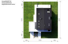 Projekt domu z poddaszem HomeKoncept 2 - Usytuowanie
