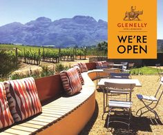 Glenelly Stellenbosch Good Food, Meal, Restaurant, Patio, Places, Outdoor Decor, Home Decor, Food, Decoration Home