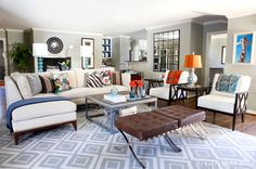 Living Room / Den / TV Room - eclectic - family room - dallas - by Kyle Knight