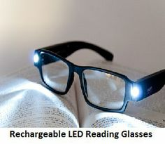 Rechargeable LED Reading Glasses- The reading glass will help you in a great way to read under low Light without much pressure on your eyes. This LED reading glass is capable to provide hours of illumination and that too in a single charge. Grocery Coupons, 5 Hours, Reading Glasses, Low Lights, Led, Caramel Highlights