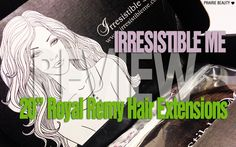 Prairie Beauty: REVIEW: Irresistible Me Royal Remy Hair Extensions*