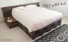 DIY bed van pallets