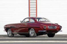 Ghia Supersonic Jaguar XK120 1953 Red