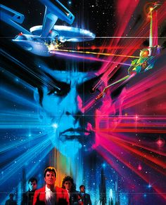 The Search for Spock; movie poster // star trek