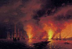battle of sinop Aivazovsky - Google'da Ara