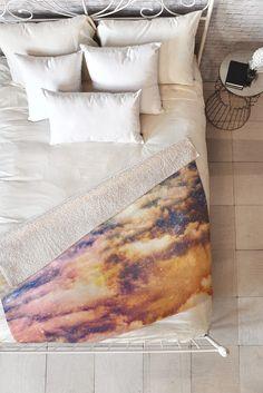 Shannon Clark Cosmic Fleece Throw Blanket   DENY Designs Home Accessories
