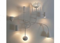 Seven Shapes Wall Light by Anna Charlesworth | est living Design Directory