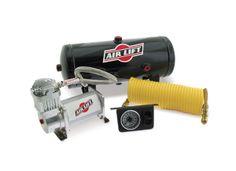 Air Lift Quick Shot Compressor System: $500 150psi Compressor + 2Gal Tank + Gauge + Hoses