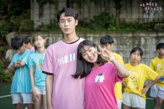 """[Photos] New Stills and Behind the Scenes Images Added for the Korean Drama """"Extraordinary You"""" @ HanCinema :: The Korean Movie and Drama Database Korean Drama Movies, Korean Actors, Korean Actresses, Korean Dramas, Mbc Drama, Kim Young, Scene Image, Ulzzang Couple, Kdrama Actors"""