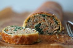 Meatloaf, Quiche, Banana Bread, Pizza, Food And Drink, Snacks, Couscous, Desserts, Recipes