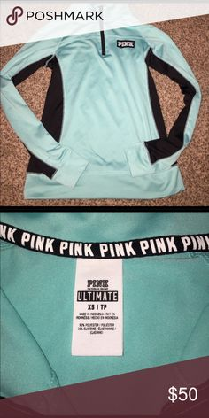 Victoria's Secret pink ultimate pullover NWOT Victoria's Secret pink ultimate jacket pullover ! Quarter zip. Please feel free to ask any questions and check out my other listings. PINK Victoria's Secret Jackets & Coats