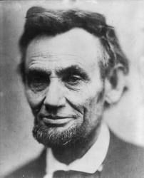 """I walk slowly, but I never walk backward."" - Abraham Lincoln"