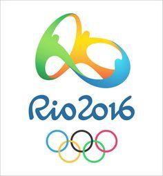 2016 Rio Olympics logo by Brazil's Tatíl Design.