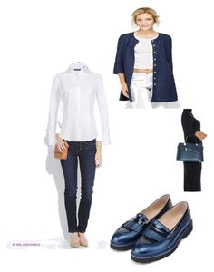 """сет 2/1"" by allvira on Polyvore featuring мода, Levi's, Dolce&Gabbana и Isabella Rhea"