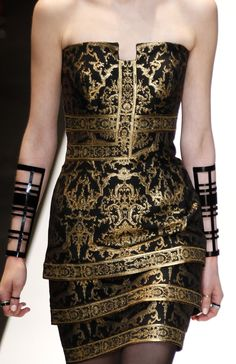 This dress (not including the wrist brace/bracelets) is phenomenal! Talk about a power house dress!