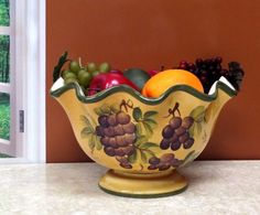 Tuscany Grape Fruit Bowl ** This is an Amazon Affiliate link. Visit the image link more details.