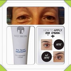 nu skin eye cream