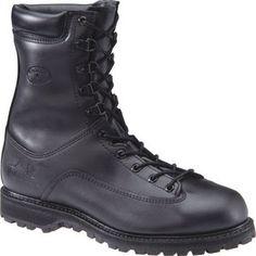 Men's Matterhorn 8 Inch Waterproof All Leather Combat Boot - Black