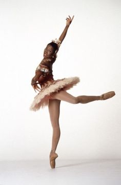 Lauren Anderson, first African American principal ballerina in the Houston Ballet.