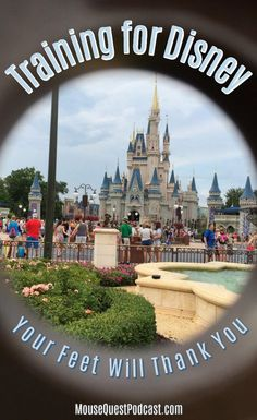 Walt Disney World is a big place. If you haven't trained your body for the punishment of steps per day, your feet will be screaming their revolt. Disney World Resorts, Disney World Tipps, Disney World Florida, Disney World Tips And Tricks, Disney Tips, Disney Vacations, Disney Ideas, Family Vacations, Disney Vacation Planning