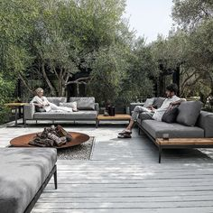 Customise Your Own Unique Outdoor Space By Combining With Coordinating  Gloster Lounge Furniture To Complete The