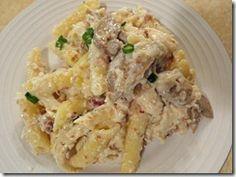 chicken cordon bleu pasta recipe! Hopefully it tastes just the pasta I love from Firehouse Pizzeria in Logan!
